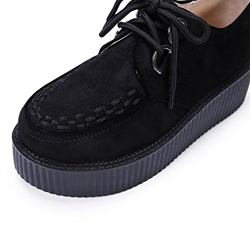 Yorwor Wrapped Creepers Femmes Mode Baskets Plateforme Sneaker 4qT1Iwr4x