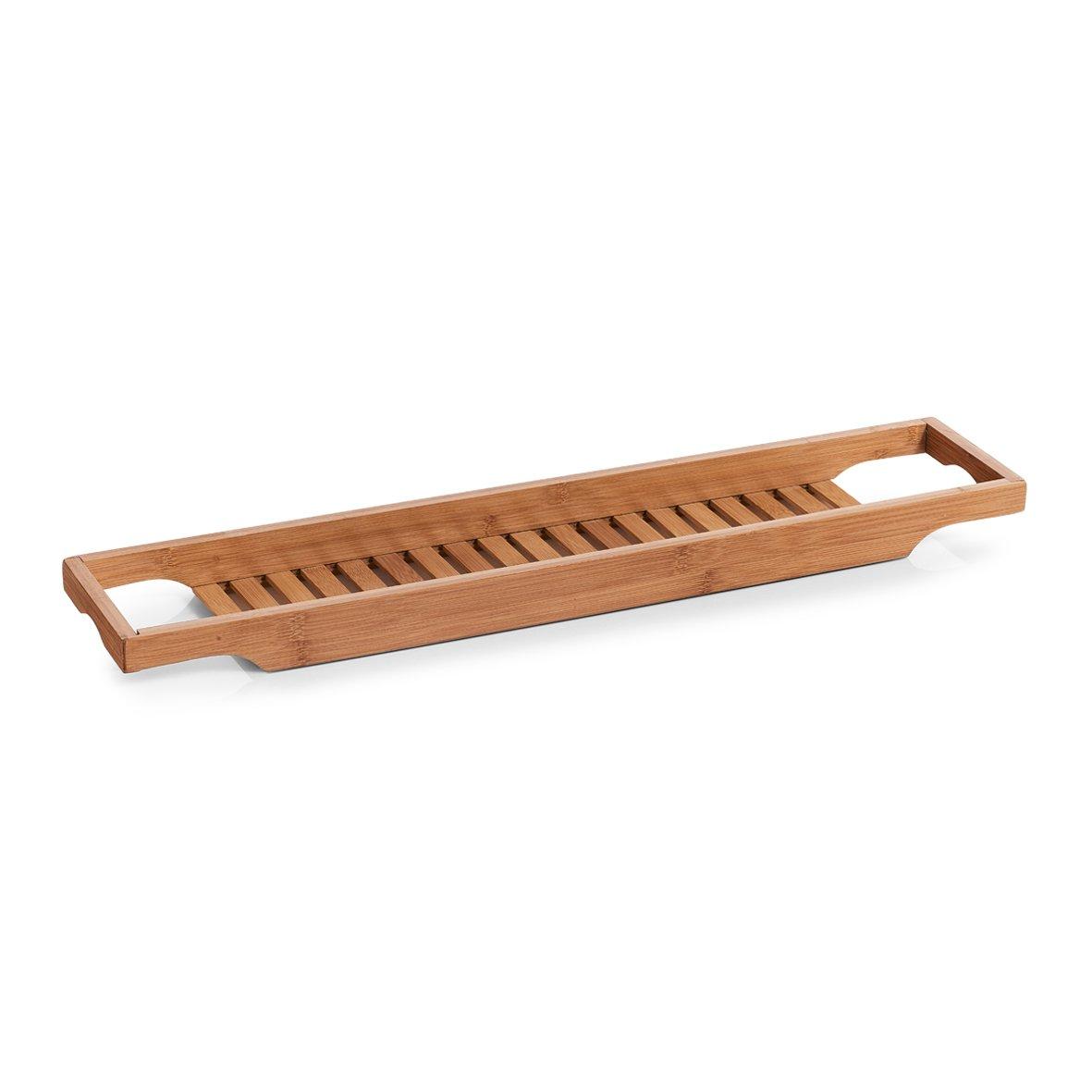 Zeller 13605 Badewannenablage, Bamboo, ca. 70 x 14,3 x 4,5 cm Zeller Present Handels