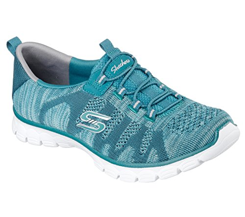 Sneakers Ez Lead Blaugrün 0 3 Skechers Flex nbsp;take The Damen 60q50wT8