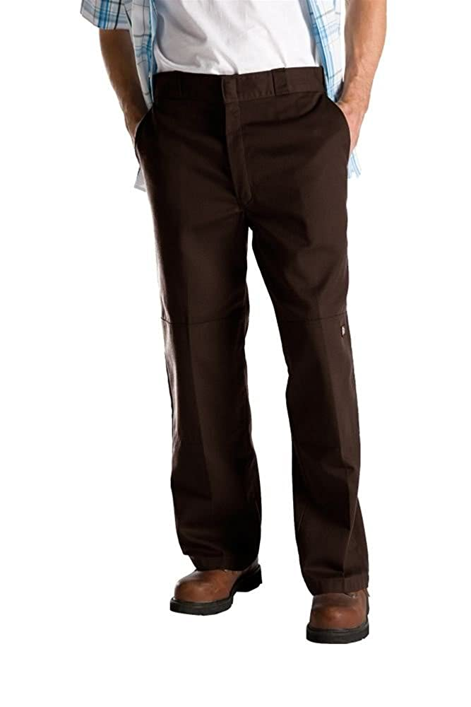 Dark marron 36W   32L Dickies Chemise Manches longues Homme