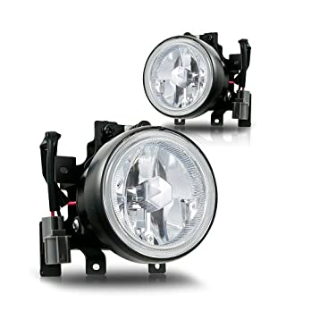Winjet-WJ30-0139-09-Clear-Lens-Fog-Light-Kit-Honda-Element-Wiring-Kit-Included