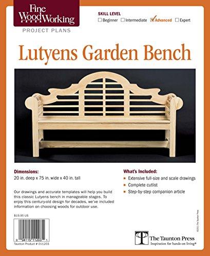 Fine Woodworking's Lutyens Garden - Lutyens Garden Furniture