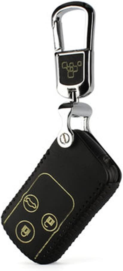 Replacement Keyless Entry Remote Shell Case Cover /& Pad fits Honda 2003-2012 Accord Cutting NOT Required 1Black+1Yellow 2006-2013 Civic EX 2009-2015 Pilot //2005-2006 CR-V Key Fob