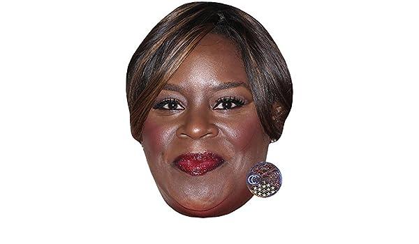 Card Face and Fancy Dress Mask Retta Celebrity Mask