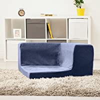 Japanese Style Wool Effect 'Jaxon' Foam Floor Sofa Lounger, Available in 3 Sizes and 8 Colours
