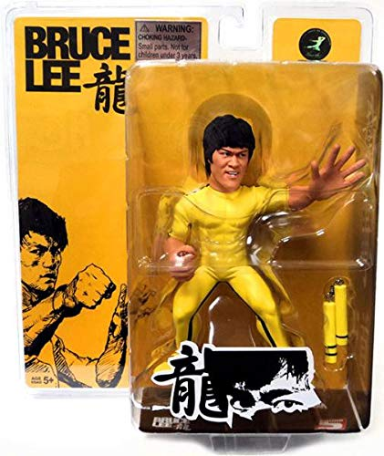 Round 5 Game of Death 6 Bruce Lee action Figure with nunchuks Lot of