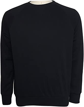 YONGM Mens Casual Round Neck Long Sleeve Pullover Sweater