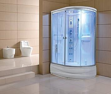 Eagle Bath Steam Shower.51 Eagle Bath Ws 903a Steam Shower Enclosure W Tub Left Side By