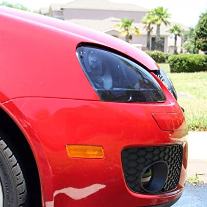 "Pro 24/""x12/"" Gray Gloss Vinyl Film Tail Light Trim Kit Wrap for Mazda /& more"