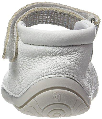 Babybotte Zaela - Patucos de Otra Piel Bebé-Niños Blanco (Blanc/Argent)