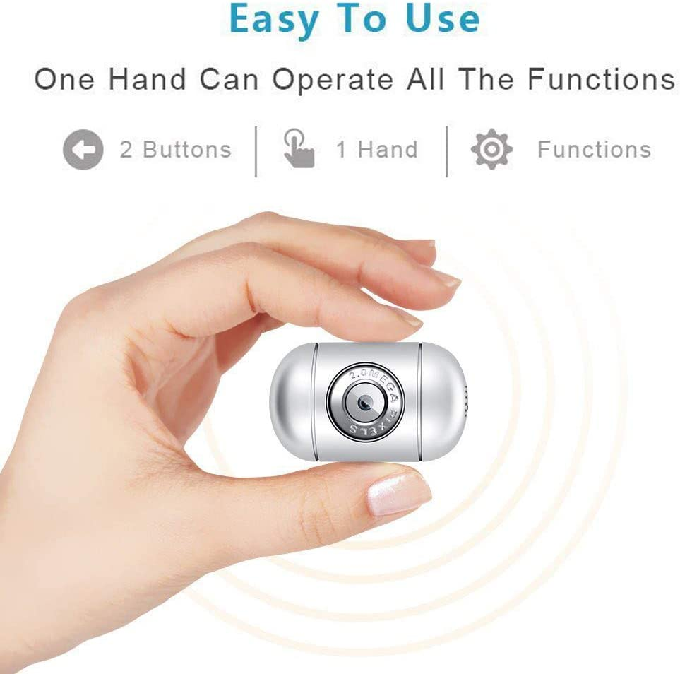 1080P HD DV Hidden Camera,Small Wireless Home Security Surveillance Cameras for iPhone/Android Phone/iPad/PC