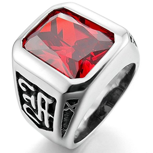 epinkifashion-jewelry-mens-stainless-steel-crystal-rings-silver-red-charm-elegant-size-8