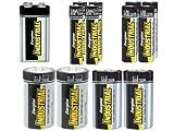 Energizer EN95 Size D Non-Rechargeable Battery 1.5 Volt Zinc-Manganese Dioxide
