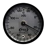 PTC 312CC Surface Thermometer -20° to 120°C w/ 3 Point Temp NIST/A2LA Cert