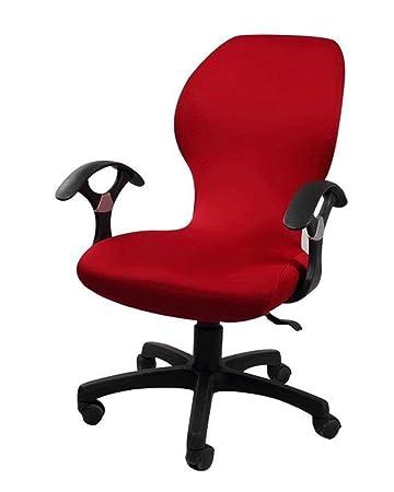 Amazon.com: Deisy Dee – Fundas para silla de oficina, color ...