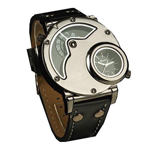 Women Automatic Mechanical Wrist Watch with PU Band (White) - 7