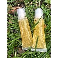 Lemonade Lip Gloss - Handmade Tinted (Goes on Clear) + Light Shimmer - Full Size LipGloss by Sugar Berry Beauty