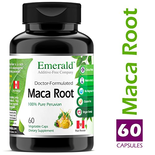 Cheap Emerald Laboratories (Fruitrients) – Maca Root – Supports Libido & Performance, Helps Regulate Endocrine Health, & Supports Adrenal Glands – 100% Pure Peruvian Maca Root – 60 Vegetable Capsules
