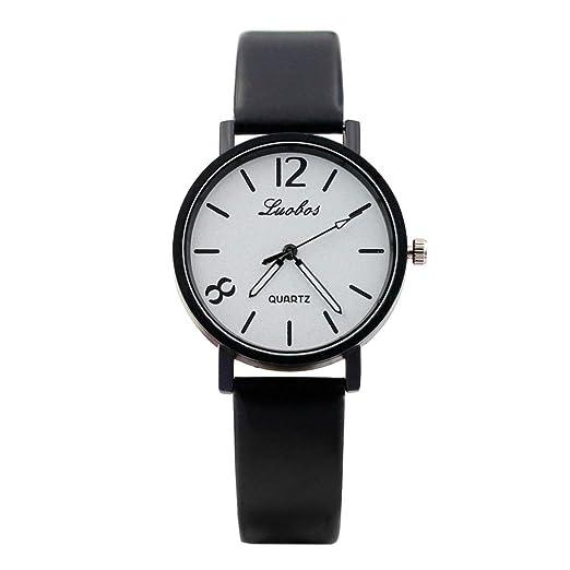 Relojes Mujer,❤LMMVP❤Las mujeres de moda correa de color digital dial de