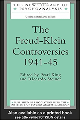 The freud klein controversies 1941 45 the new library of the freud klein controversies 1941 45 the new library of psychoanalysis 1st edition fandeluxe Image collections