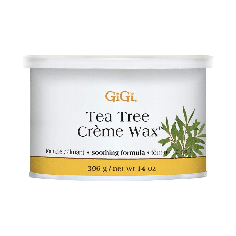 GiGi Tea Tree Creme Wax Antiseptic Formula 396g/14oz
