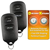 Discount Keyless Replacement Key Fob Car Entry Remote For Toyota Scion HYQ12BBX, HYQ12BAN (2 Pack)