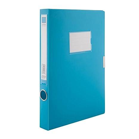 Archivadores de palanca A4 documento caja archivo de carpeta, tamaño folio, 35 mm Capacidad