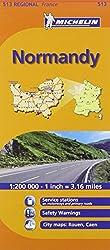 Michelin Map France: Normandy 513 (Maps/Regional (Michelin))