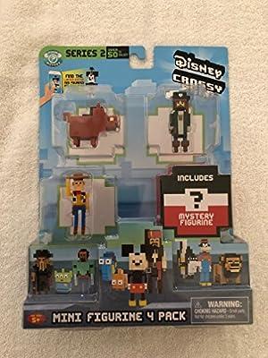 Disney Crossy Road S2 Mini Figures 4 Pk