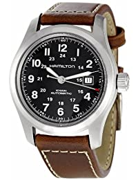 Hamilton H70555533 Khaki Field Auto Mens Watch - Black Dial