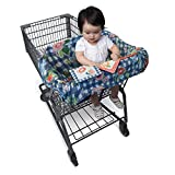 Best Boppy Shopping Cart Covers - Boppy Shopping Cart and High Chair Cover, Navy Review