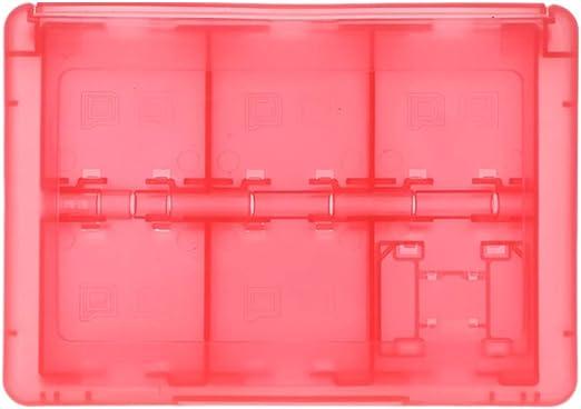 Lamdoo - Estuche Protector 24 en 1 para Tarjetas de Juego y Cartuchos, Caja organizadora a Prueba de Golpes, portátil, para Nintendo Switch 3DS 2DS/DS Lite/DSL, Color Rosa: Amazon.es: Hogar