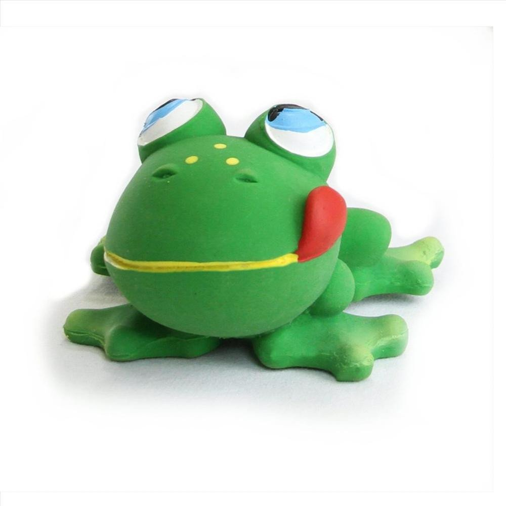 Amazon.com : LANCO Natural Rubber Toy, Frog (Discontinued by ...