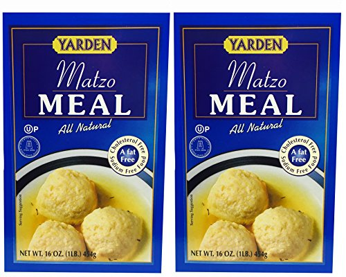 Yarden Matzo Meal Kosher for Passover 16 oz 2 Pack Total 32 OZ
