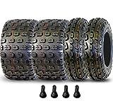 Full Set of 21x7-10 Gravity 653 6 ply & 20x11x9 Gravity 654 6 Ply Sport ATV Tires