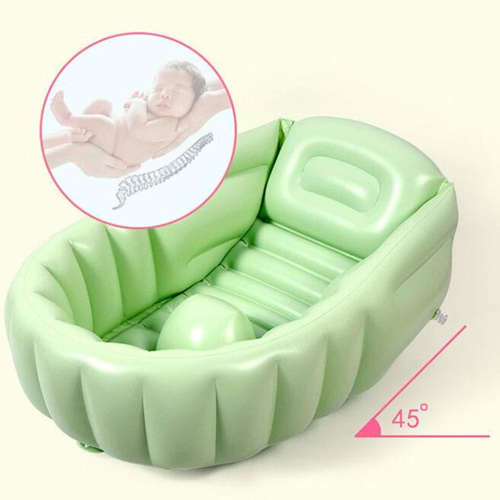 LYM & bañera Plegable Bañera para niños Bebé Viaje Plegable Bañera ...