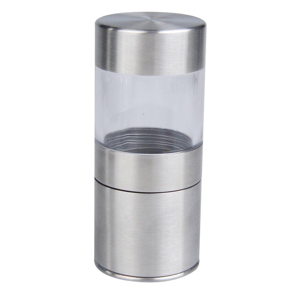 Stainless Steel Hand Manual Salt Pepper Mill Grinder Spice Kitchen Muller Tool