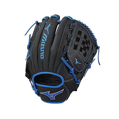 Mizuno MVP Prime SE GMVP1200PSE6 Infield/Outfield/Pitcher Model Gloves, Black/Royal, 12