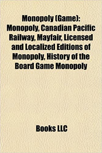 Monopoly game : Monopoly, Canadian Pacific Railway, Mayfair, List of licensed and localized editions of Monopoly: Europe: Amazon.es: Source: Wikipedia: Libros en idiomas extranjeros