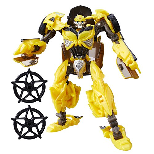 Transformers: The Last Knight Premier Edition Deluxe (Transformers Age Of Extinction Bumblebee)
