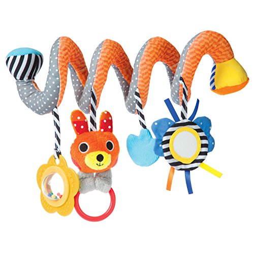 Manhattan Toy Take Along Play Activity Spiral Travel Toy (Spiral Activity)