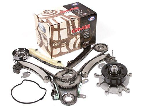 Evergreen TK5037LWP Fits 04-07 Jeep Dodge Mitsubishi 3.7L Timing Chain Kit Water Pump (NGC Cam Gear)