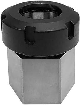 Hex ER32 Collet Block Spring Chuck Holder for Lathe Engraving Tool Drilling CNC