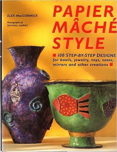 Book Papier Mache Style