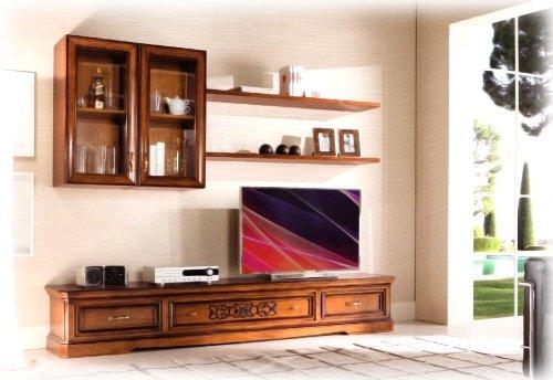 Porta Tv In Stile Classico.Artigiani Veneti Riuniti Mobile Per Parete Soggiorno In Stile