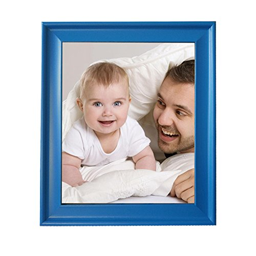 New Arrival! 8x10 inch Rustic Blue Display Picture Frames, Blue Color, Vintage Wooden Photo Frames, Family Picture Frames, Wood Material Baby Wedding Frames
