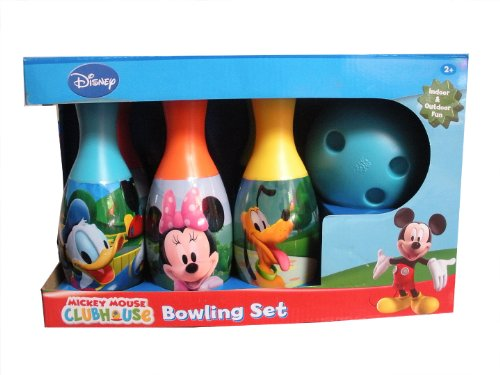 mickey clubhouse bowling set - 8