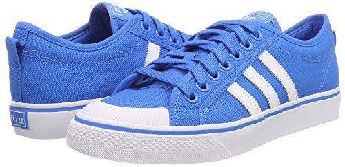 Turquoise Chaussures Adidas Pour Nizza Homme De Basket Cq2330 brblue Ftwwht pYrqYR
