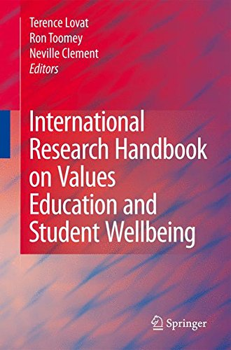 International Research Handbook on Values Education and Student Wellbeing pdf