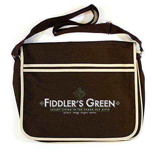 Brown Retro Messenger Dead Of The Bag Land Fiddlers Green Y8vPwqp